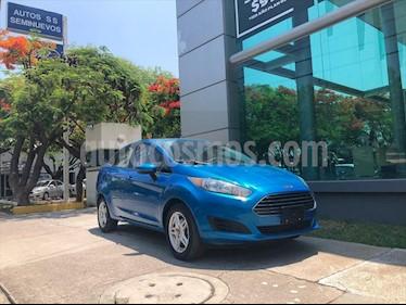 Ford Fiesta Sedan SE usado (2017) color Azul Electrico precio $169,000