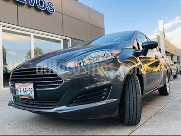 Ford Fiesta Sedan SE usado (2018) color Gris Oscuro precio $209,000