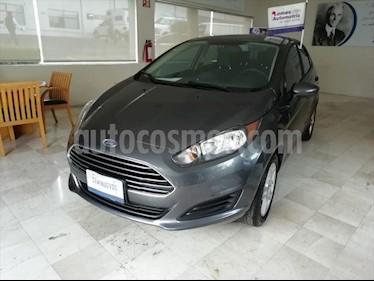 Ford Fiesta Sedan SE usado (2018) color Gris Oscuro precio $199,000