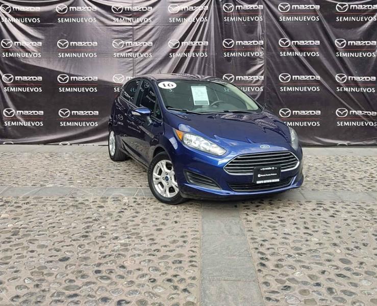 Foto Ford Fiesta Sedan SE Aut usado (2016) color Azul precio $165,000