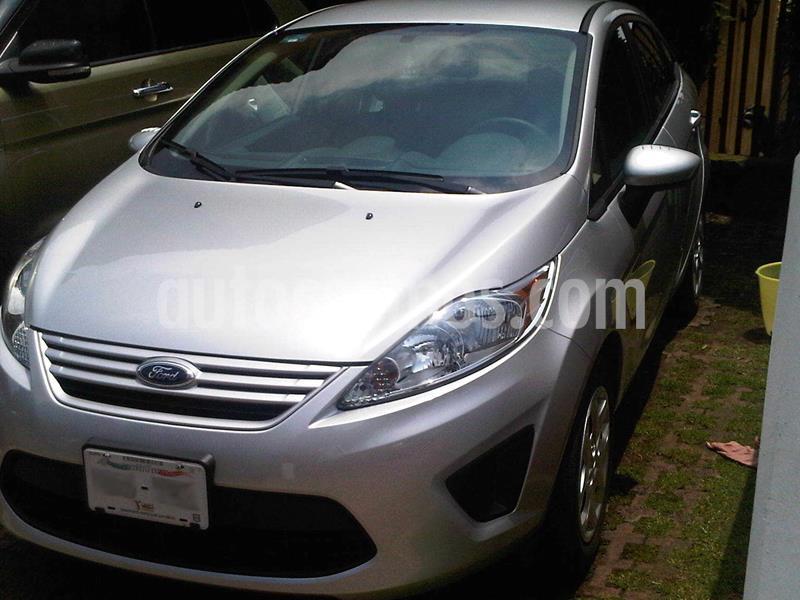 Ford Fiesta Sedan S usado (2013) color Plata Estelar precio $103,000