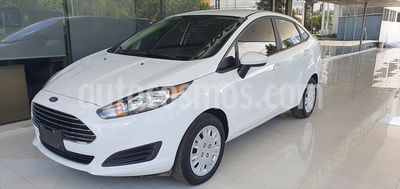 Ford Fiesta Sedan S usado (2019) color Blanco precio $195,000