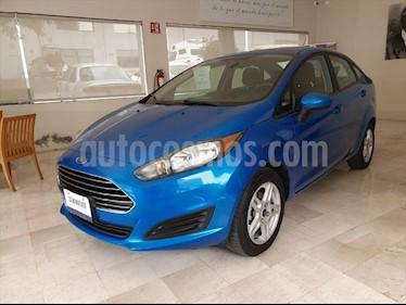 Ford Fiesta Sedan SE usado (2017) color Azul Electrico precio $179,000