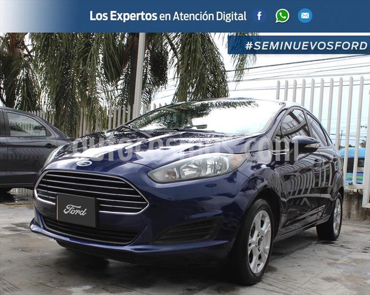 Ford Fiesta Sedan SE usado (2016) color Azul Electrico precio $155,000
