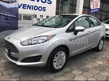 Ford Fiesta Sedan S usado (2018) color Plata precio $235,000