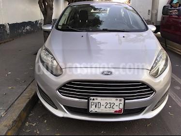 Ford Fiesta Sedan S Aut usado (2014) color Plata Estelar precio $89,000