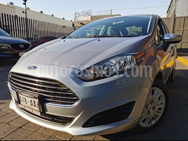 Ford Fiesta Sedan S usado (2014) color Plata Estelar precio $120,000