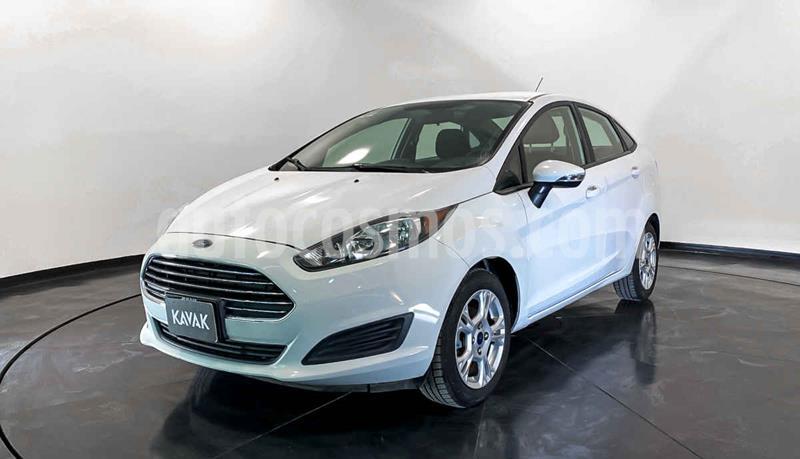 Ford Fiesta Sedan S Aut usado (2015) color Blanco precio $134,999