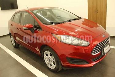 Ford Fiesta Sedan SE Aut usado (2016) color Rojo precio $169,000