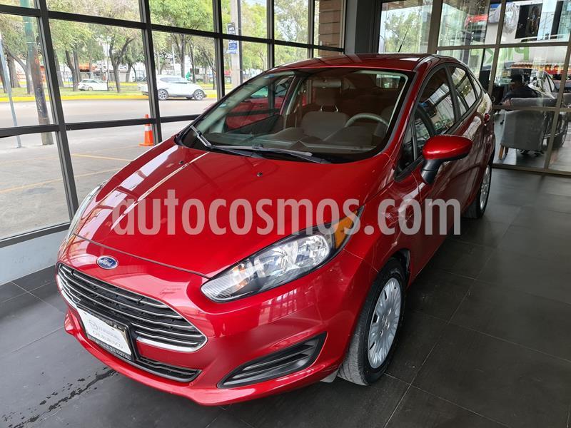 Ford Fiesta Sedan S usado (2016) color Rojo precio $142,000