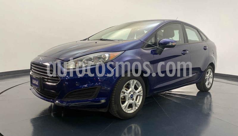 Ford Fiesta Sedan S Aut usado (2015) color Azul precio $154,999