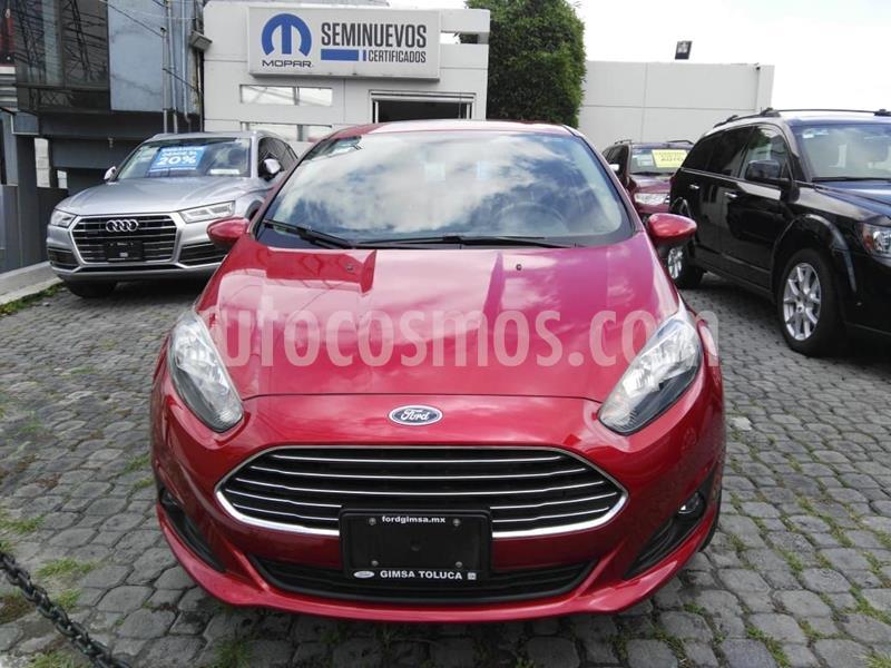 Ford Fiesta Sedan SE usado (2018) color Rojo precio $190,000