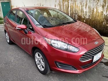 Ford Fiesta Sedan SE usado (2016) color Rojo Rubi precio $138,900
