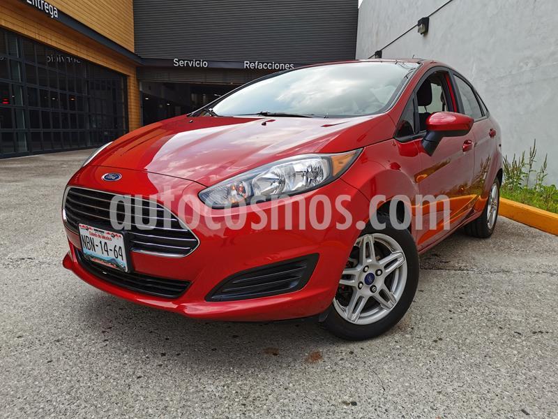 Ford Fiesta Sedan SE usado (2017) color Rojo Rubi precio $160,000