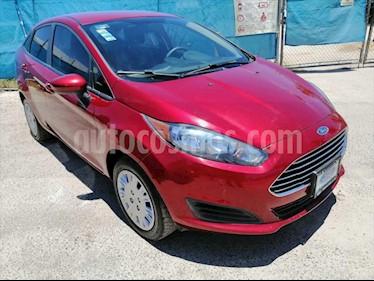 Ford Fiesta Sedan S Aut usado (2017) color Rojo precio $185,000