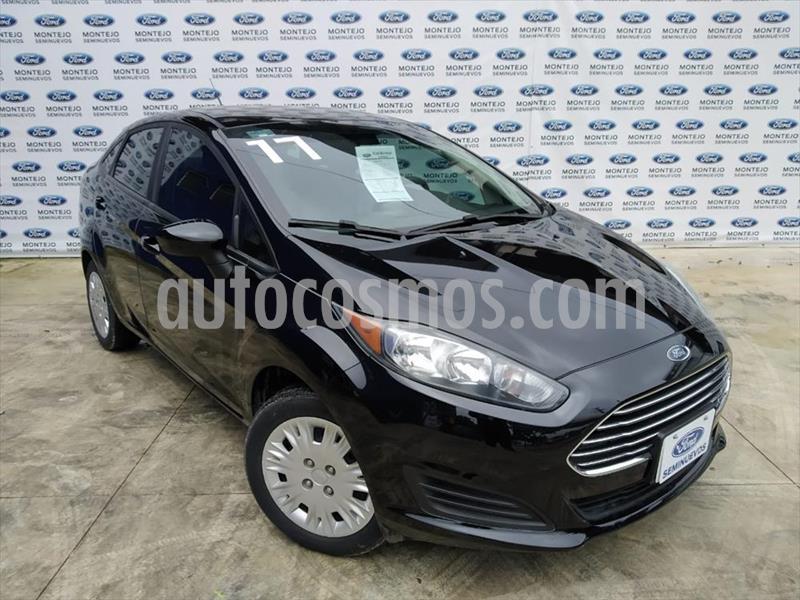 Ford Fiesta Sedan S usado (2017) color Negro precio $160,000