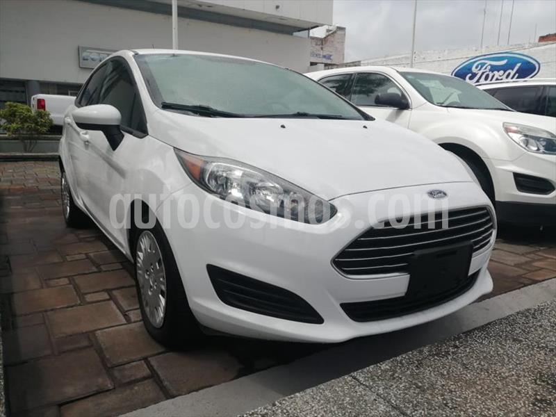 Ford Fiesta Sedan S Aut usado (2016) color Blanco precio $145,000