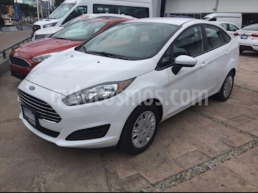 Ford Fiesta Sedan S usado (2018) color Blanco precio $189,000