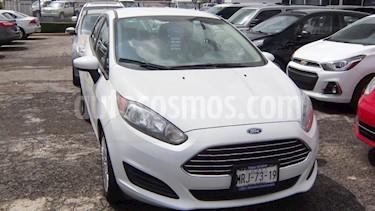 Foto venta Auto usado Ford Fiesta Sedan S Aut (2014) color Blanco precio $126,000