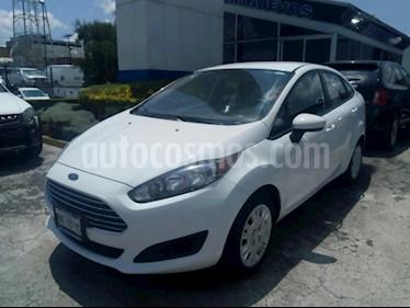 Foto venta Auto usado Ford Fiesta Sedan S Aut (2014) color Blanco precio $137,000