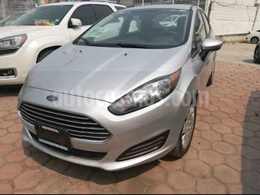 Foto venta Auto usado Ford Fiesta Sedan S Aut (2014) color Plata precio $130,000