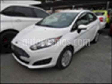 Foto venta Auto usado Ford Fiesta Sedan S L4/1.6 AUT (2015) color Blanco precio $140,000