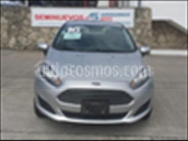 Foto venta Auto usado Ford Fiesta Sedan S (2016) color Plata precio $170,000