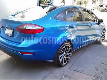 Foto venta Auto usado Ford Fiesta Sedan S (2016) color Azul Brillante precio $158,000