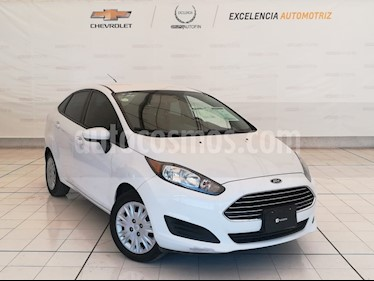 Foto venta Auto usado Ford Fiesta Sedan S (2014) color Blanco Oxford precio $125,000