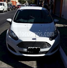 Foto venta Auto usado Ford Fiesta Sedan S (2016) color Blanco precio $153,000