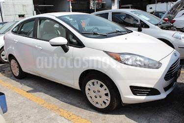 Foto venta Auto usado Ford Fiesta Sedan S (2016) color Blanco Oxford precio $165,000