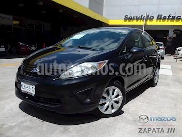 Foto venta Auto usado Ford Fiesta Sedan S (2013) color Negro Perla precio $105,000