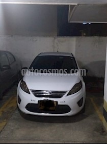 Foto venta Carro usado Ford Fiesta Sedan SE Aut (2011) color Blanco precio $20.000.000