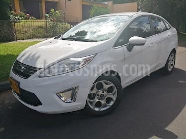 Foto venta Carro Usado Ford Fiesta Sedan SE Aut (2012) color Blanco Oxford precio $27.400.000