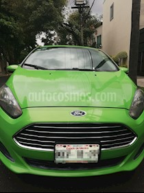 Foto Ford Fiesta Sedan SE Aut usado (2014) color Verde Electrico precio $125,000
