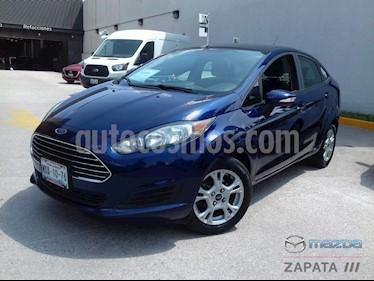 Foto venta Auto usado Ford Fiesta Sedan SE Aut (2016) color Azul Brillante precio $1,600,000