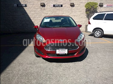 Foto venta Auto usado Ford Fiesta Sedan SE Aut (2014) color Rojo precio $148,000