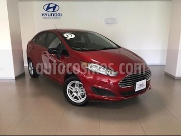 Foto venta Auto usado Ford Fiesta Sedan SE Aut (2017) color Rojo Rubi precio $224,000