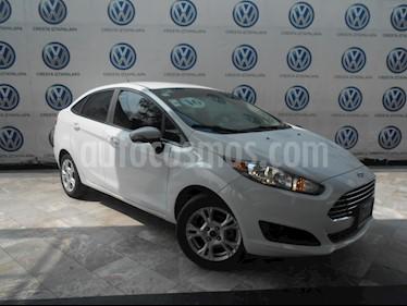Foto Ford Fiesta Sedan SE Aut usado (2016) color Blanco precio $184,000