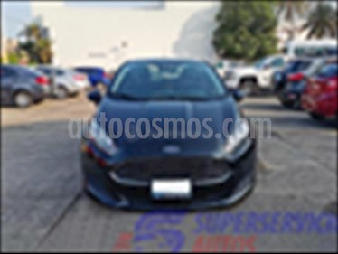 Foto venta Auto usado Ford Fiesta Sedan SE Aut (2016) color Negro precio $185,000