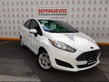 Foto Ford Fiesta Sedan SE Aut usado (2017) color Blanco Oxford precio $195,000