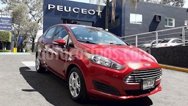 Foto venta Auto usado Ford Fiesta Sedan SE Aut (2016) color Rojo Rubi precio $169,900