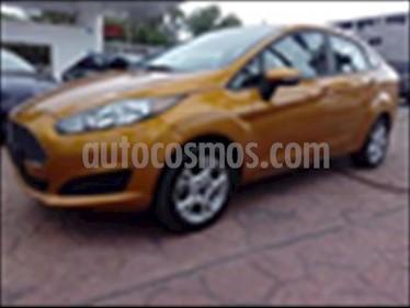 Foto venta Auto usado Ford Fiesta Sedan SE Aut (2016) color Naranja precio $170,000