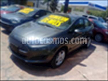 Ford Fiesta Sedan SE Aut usado (2018) color Gris Oscuro precio $260,000