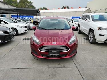 Foto venta Auto usado Ford Fiesta Sedan SE Aut (2016) color Rojo Rubi precio $172,000
