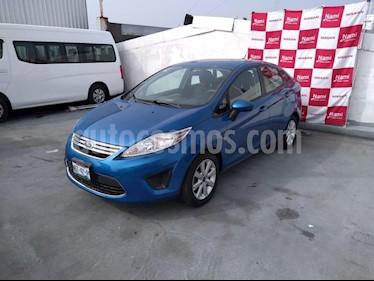 Foto venta Auto Seminuevo Ford Fiesta Sedan SE Aut (2011) color Azul precio $108,000