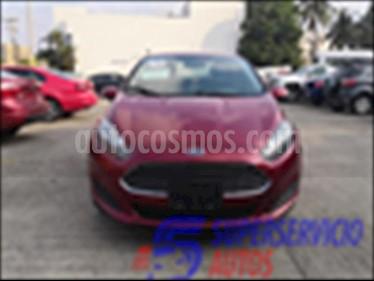 Ford Fiesta Sedan SE L4/1.6 MAN usado (2016) color Rojo precio $180,000