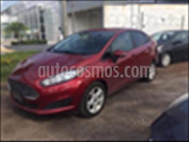 Ford Fiesta Sedan SE L4/1.6 MAN usado (2016) color Rojo precio $190,000