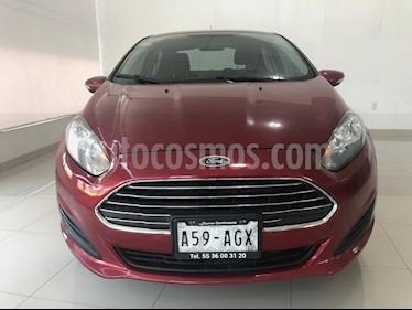 Foto venta Auto usado Ford Fiesta Sedan SE (2016) color Rojo Rubi precio $164,900