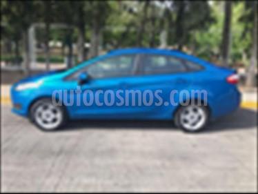 Foto venta Auto usado Ford Fiesta Sedan SE (2017) color Azul Electrico precio $189,000